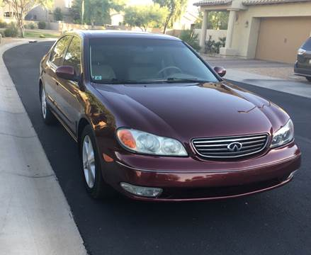 2002 Infiniti I35 for sale at Used Car Showcase in Phoenix AZ