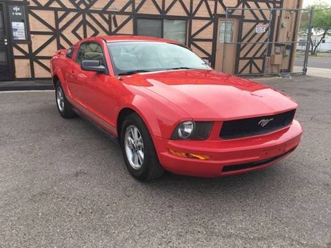 2005 Ford Mustang for sale at Used Car Showcase in Phoenix AZ