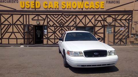 2004 Ford Crown Victoria for sale at Used Car Showcase in Phoenix AZ