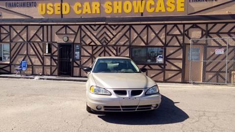 2004 Pontiac Grand Am for sale at Used Car Showcase in Phoenix AZ