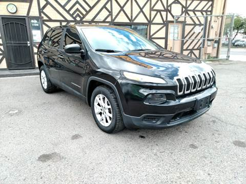 2015 Jeep Cherokee for sale at Used Car Showcase in Phoenix AZ
