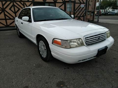 2003 Ford Crown Victoria for sale at Used Car Showcase in Phoenix AZ