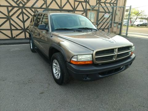 2003 Dodge Durango SXT for sale at Used Car Showcase in Phoenix AZ