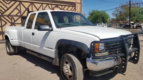 1998 Chevrolet C/K 3500 Series K3500 Silverado for sale at Used Car Showcase in Phoenix AZ