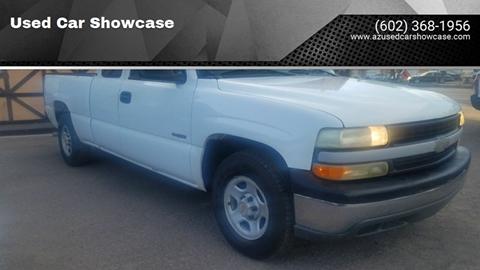 2001 Chevrolet Silverado 1500 for sale at Used Car Showcase in Phoenix AZ