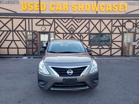 2015 Nissan Versa for sale at Used Car Showcase in Phoenix AZ