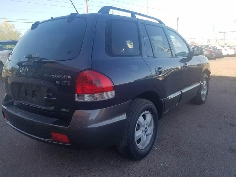 2005 Hyundai Santa Fe For Sale At Used Car Showcase In Phoenix AZ