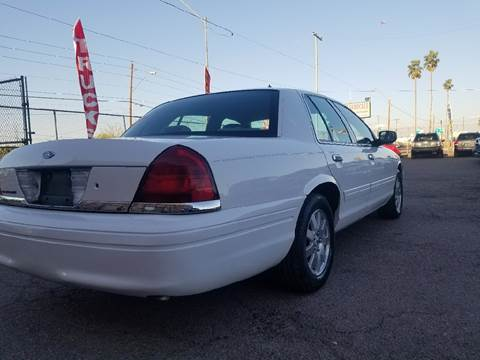 2008 Ford Crown Victoria for sale at Used Car Showcase in Phoenix AZ