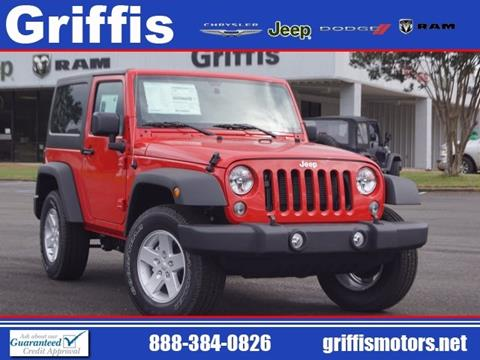 2017 Jeep Wrangler for sale in Philadelphia, MS