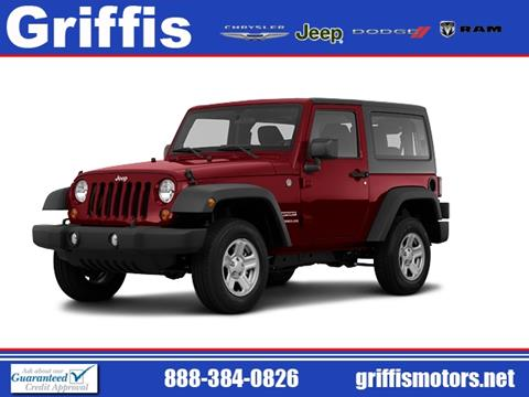 2011 Jeep Wrangler for sale in Philadelphia, MS