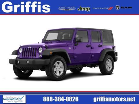 2017 Jeep Wrangler Unlimited for sale in Philadelphia, MS
