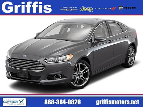 2016 Ford Fusion for sale in Philadelphia, MS