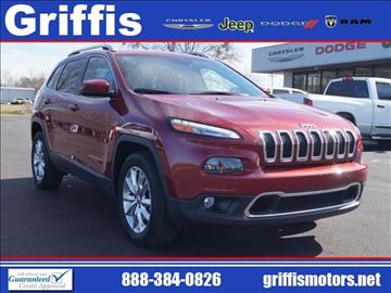 2016 Jeep Cherokee for sale in Philadelphia, MS