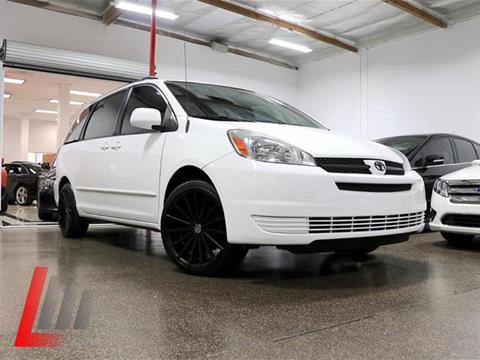 2005 Toyota Sienna for sale at Lancer Motors LLC in Costa Mesa CA