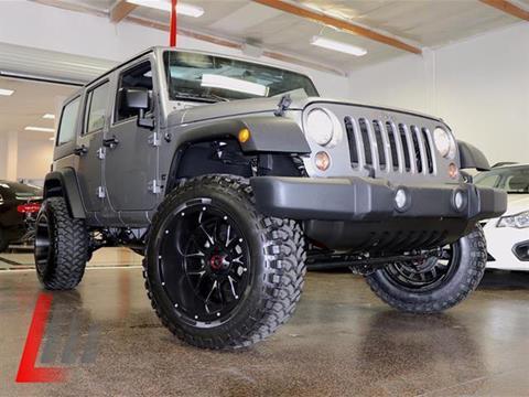2015 Jeep Wrangler Unlimited for sale at Lancer Motors LLC in Costa Mesa CA