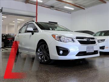 2014 Subaru Impreza for sale at Lancer Motors LLC in Costa Mesa CA