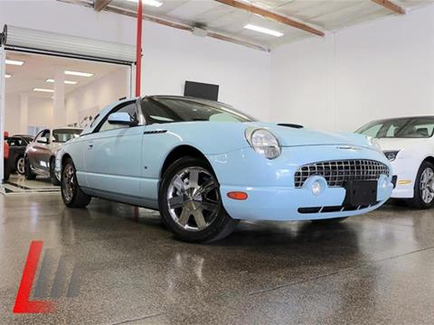 2003 Ford Thunderbird for sale at Lancer Motors LLC in Costa Mesa CA