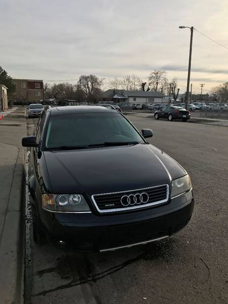 2003 Audi Allroad Quattro AWD 4dr Turbo Wagon - Salt Lake City UT