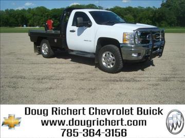 2012 Chevrolet Silverado 3500HD for sale in Holton, KS