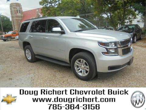 2017 Chevrolet Tahoe for sale in Holton, KS