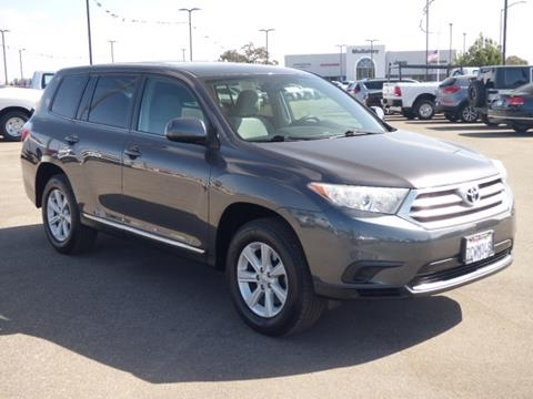 2013 Toyota Highlander for sale in Paso Robles, CA