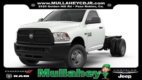 2018 RAM Ram Chassis 3500 for sale in Paso Robles, CA
