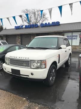 2004 Land Rover Range Rover for sale in Scranton, PA