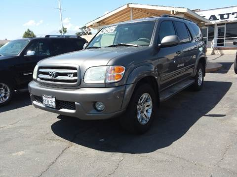 2004 Toyota Sequoia for sale in Fontana, CA