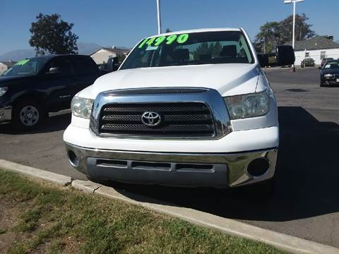 2008 Toyota Tundra for sale in Fontana, CA