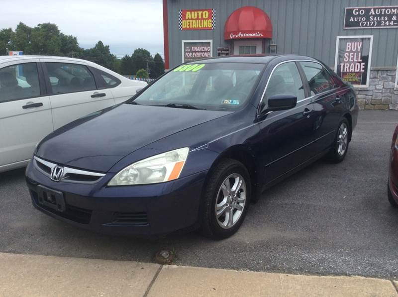 2006 Honda Accord For Sale >> 2006 Honda Accord Ex In Red Lion Pa Go Automotive Sales Service