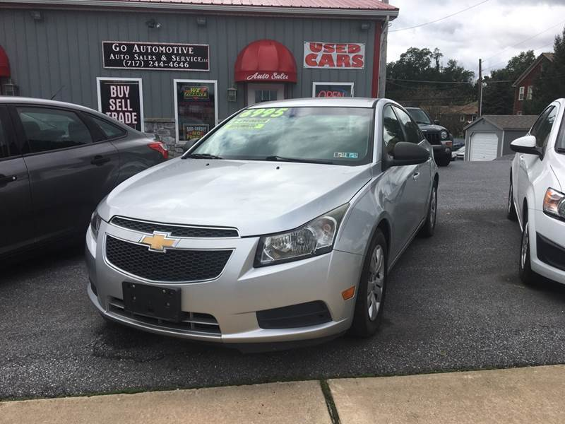 2012 Chevrolet Cruze For Sale At GO Automotive Sales U0026 Service In Red Lion  PA