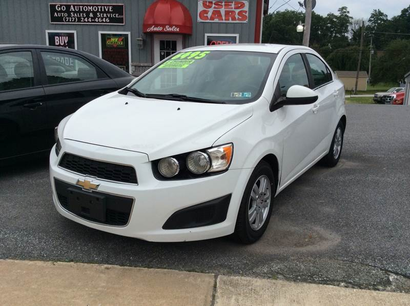 2012 Chevrolet Sonic For Sale At GO Automotive Sales U0026 Service In Red Lion  PA