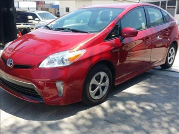 2013 Toyota Prius for sale in Wilmington, CA