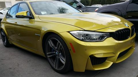 BMW M For Sale Carsforsalecom - Bmw 2015 m3 for sale