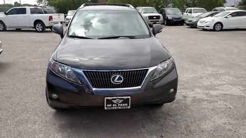 Lexus For Sale El Paso Tx
