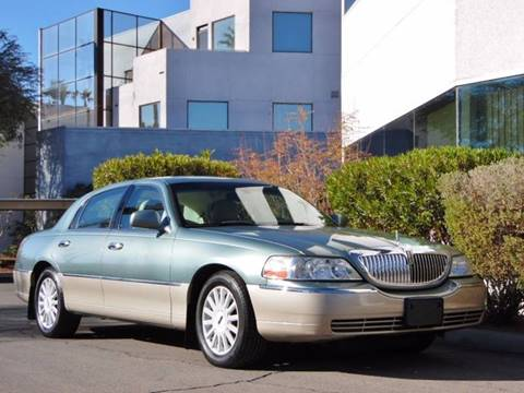2005 Lincoln Town Car for sale in Las Vegas, NV
