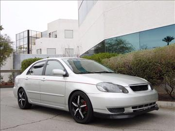 2003 Toyota Corolla for sale at Auction Motors in Las Vegas NV