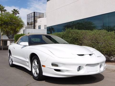 2002 Pontiac Firebird for sale in Las Vegas, NV