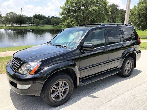 2003 Lexus GX 470 for sale at Terra Motors LLC in Jacksonville FL