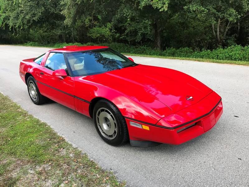 1985 Chevrolet Corvette for sale at Terra Motors LLC in Jacksonville FL
