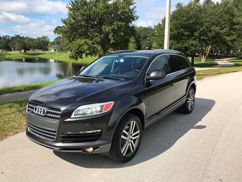 2008 Audi Q7 for sale at Terra Motors LLC in Jacksonville FL