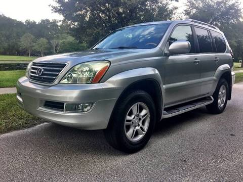 2005 Lexus GX 470 for sale at Terra Motors LLC in Jacksonville FL