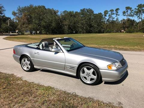 2000 Mercedes-Benz SL-Class for sale at Terra Motors LLC in Jacksonville FL