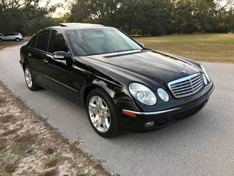 2003 Mercedes-Benz E-Class for sale at Terra Motors LLC in Jacksonville FL