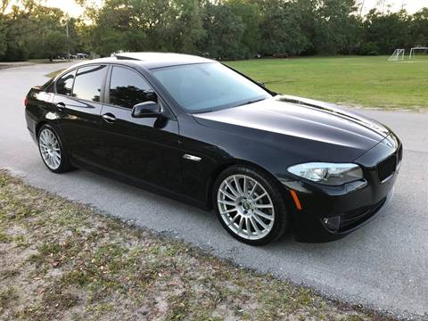 2011 BMW 5 Series for sale at Terra Motors LLC in Jacksonville FL