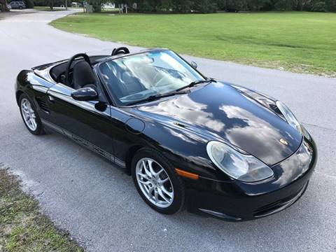 2003 Porsche Boxster for sale at Terra Motors LLC in Jacksonville FL