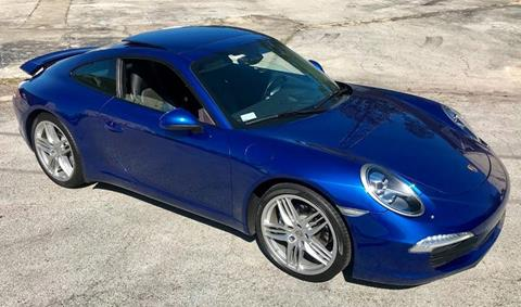 2012 Porsche 911 for sale at Terra Motors LLC in Jacksonville FL