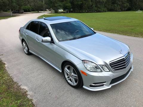 2012 Mercedes-Benz E-Class for sale at Terra Motors LLC in Jacksonville FL
