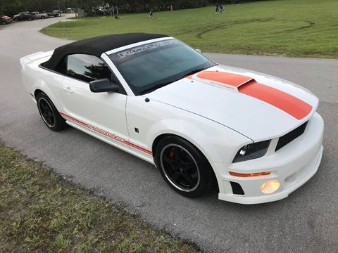 2008 Ford Mustang for sale at Terra Motors LLC in Jacksonville FL