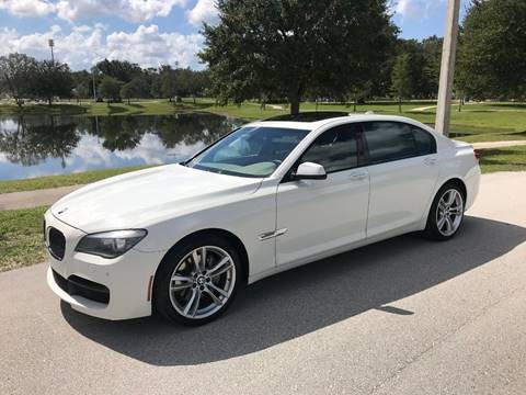 2012 BMW 7 Series for sale at Terra Motors LLC in Jacksonville FL